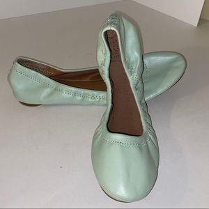 NWT LUCKY BRAND stretch ballet flats size 9